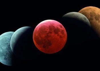 """罕见天象""""超级血色月全食""""登场在即 全球可""""逐月"""""""